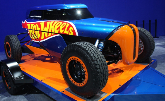 Hot Wheels SEMA Rip Rod