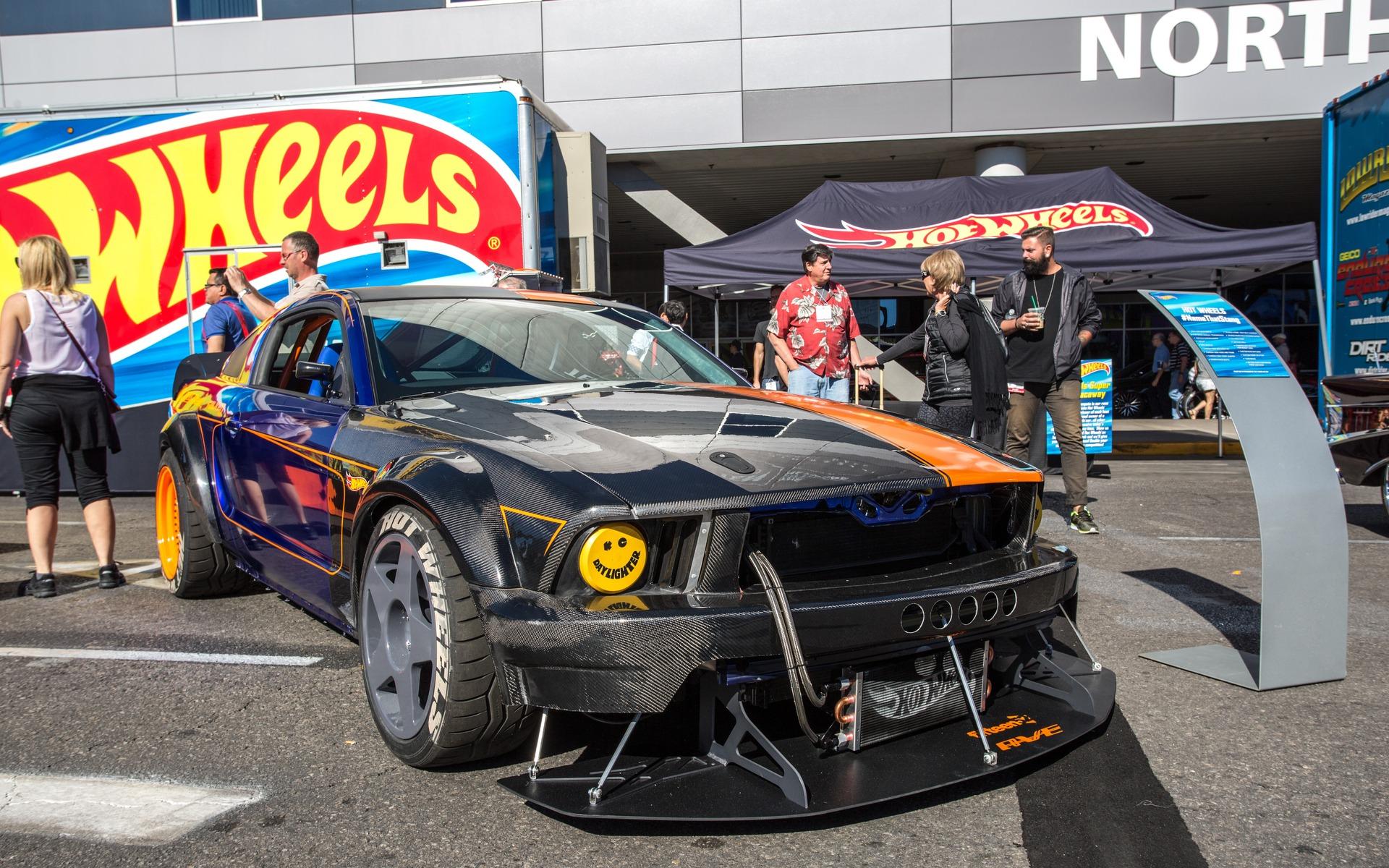 Hot Wheels Sema Mustang Action Vehicle Engineering